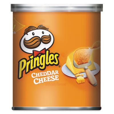 Potato Chips, Cheddar Cheese, 1.41oz Can, 36/Carton
