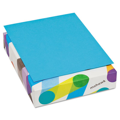 BriteHue Multipurpose Colored Paper, 20lb, 8 1/2 x 11, Blue, 500