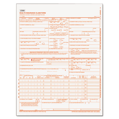 Centers for Medicare and Medicaid Services Forms, 8 1/2 x 11, 25