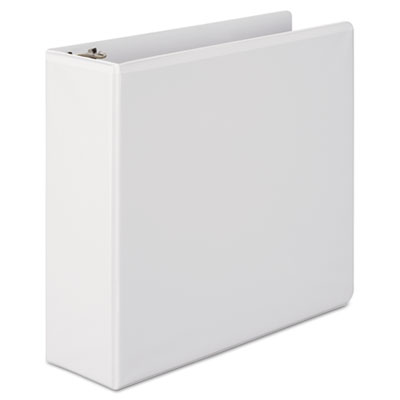 "362 Basic Round Ring View Binder, 3"" Capacity, White"