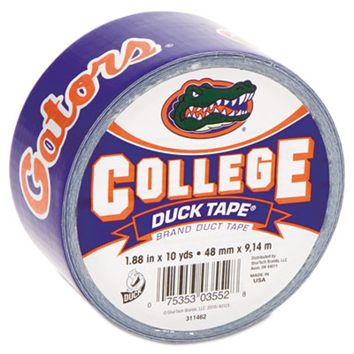 "College DuckTape, University of Florida Gators, 1.88"" x 10 yds,"