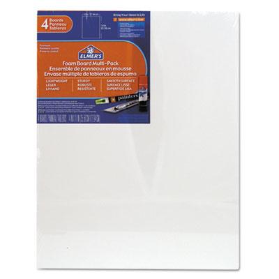 White Pre-Cut Foam Board Multi-Packs, 11 x 14, 4/PK<br />91-EPI-950021