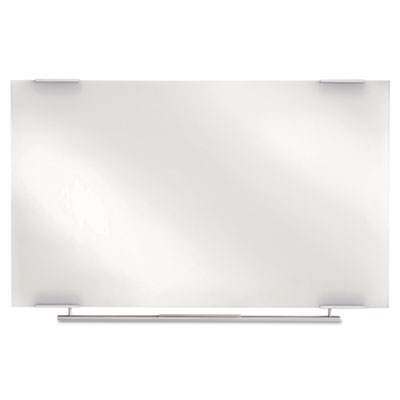 Clarity Glass Dry Erase Boards, Frameless, 60 x 36