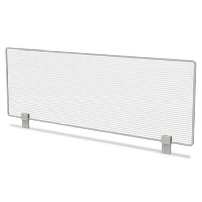 Trento Line Dividing Panel, Polycarbonate, 47-1/8 x 1 3/4 x 15-1