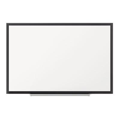 Classic Magnetic Whiteboard, 60 x 36, Black Aluminum Frame