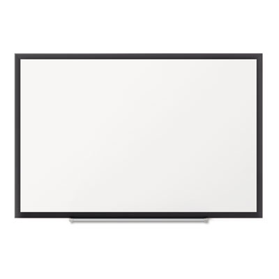 Classic Magnetic Whiteboard, 48 x 36, Black Aluminum Frame