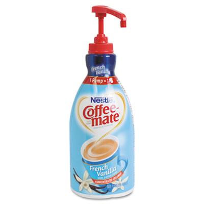 Liquid Coffee Creamer, French Vanilla, 1500mL Pump Bottle