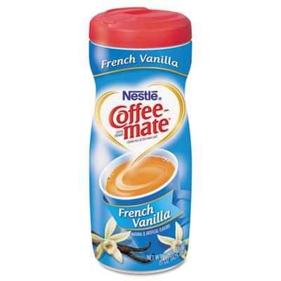 French Vanilla Creamer Powder, 15oz Plastic Bottle