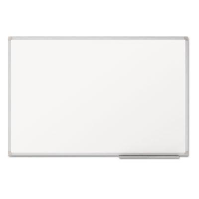 Dry Erase Board, Melamine Surface, 36 x 24, Aluminum Frame