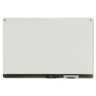 Clarity Glass Personal Dry Erase Boards, Ultra-White Backing, 36
