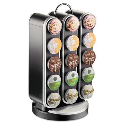 Vortex Single-Serve Cup Carousel, 30-Cup Capacity, 8 x 7 1/2 x 1