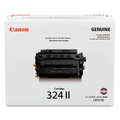 3482B013 (324LL) High-Yield Toner, 12,500 Page-Yield, Black