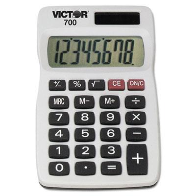 700 Pocket Calculator, 8-Digit LCD<br />91-VCT-700