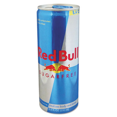 Energy Drink, Sugar-Free, 8.4 oz Can, 24/Carton
