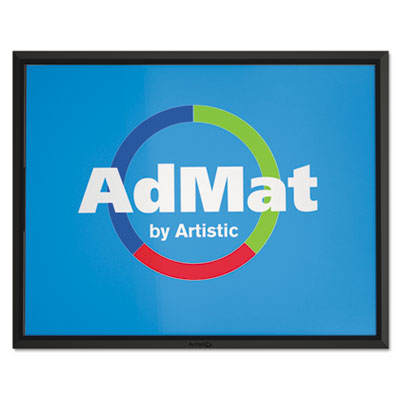 AdMat Counter Mat, 8 1/2 x 11, Black Base