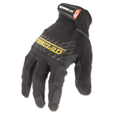 Box Handler Gloves, Black, Medium, Pair