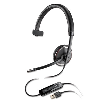 Blackwire C510 Monaural Over-the-Head Corded Headset