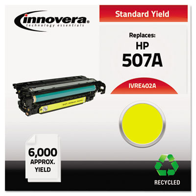 Remanufactured CE402A (M551) Toner, 6000 Page-Yield, Yellow