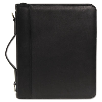 Zip-Around Cal-Q Folio, Smooth Cover, Calculator, 3-Ring, Pad, P