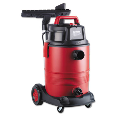 Commercial Wet Dry Vacuum, 11.5A, 8gal, 12lb, Red