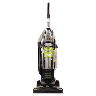 Whirlwind Rewind Upright Vacuum, 19 lbs, Black/Spritz Green