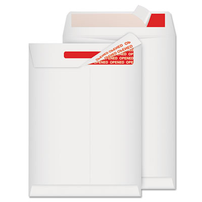 Advantage Flap-Stik Tyvek Mailer, Side Seam, 9 x 12, White, 100/