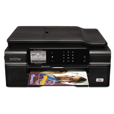MFC-J870DW Work Smart Wireless Color Inkjet All-in-One, Copy/Fax