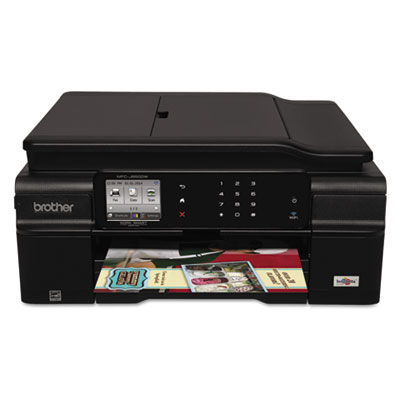 MFC-J650DW Work Smart Wireless Color Inkjet All-in-One, Copy/Fax