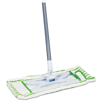"HomePro Mighty Mop, 54"" Handle, 6 1/2 x 2 1/2 Frame, Green"