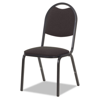 8917 Series Fabric Upholstered Stack Chair, 18w x 22d x 35-1/2h,