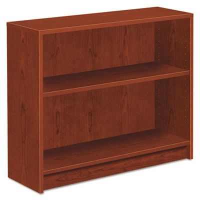 1870 Series Bookcase, Two-Shelf, 36w x 11-1/2d x 29-7/8h, Henna