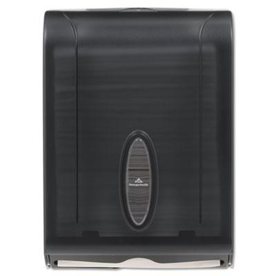 C-Fold/Multifold Towel Dispenser, 11 x 5 1/4 x 15 2/5, Transluce