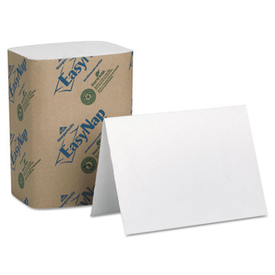 Double-Ply Embossed Dispenser Napkins, 6 1/2 x 10, White, 6000/C
