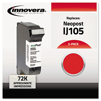 105 Compatible, 8100032H (IJ105) Ink, 72000 Yield, Red