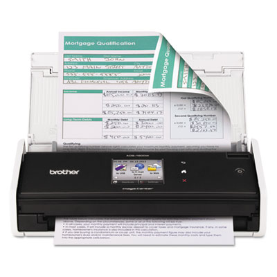 ADS1500W Wireless Compact Scanner, 600 x 600 dpi, 20 Sheet Autom