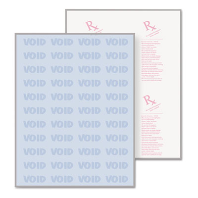 DocuGard Security Paper, 8-1/2 x 11, Blue, 500/Ream