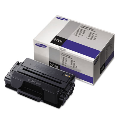 MLT-D203L (SU901A) High-Yield Toner, 5000 Page-Yield, Black<br />91-SAS-SU901A
