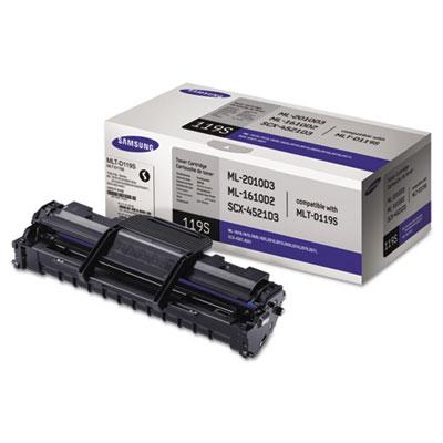 MLT-D119S (SU864A) Toner, 2000 Page-Yield, Black<br />91-SAS-SU864A
