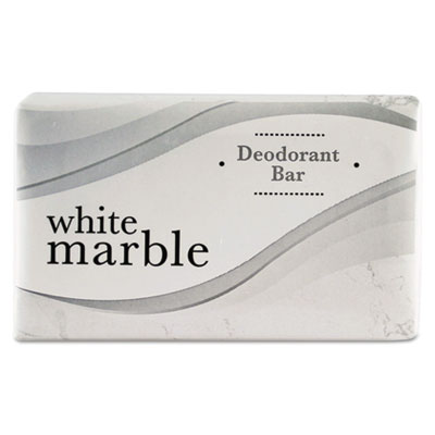 Individually Wrapped Deodorant Bar Soap, White, .75oz Bar, 1000/