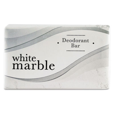 Individually Wrapped Deodorant Bar Soap, White, 1.5oz Bar, 500/C