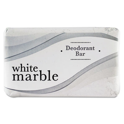 Individually Wrapped Deodorant Bar Soap, White, 2.5oz Bar, 200/C