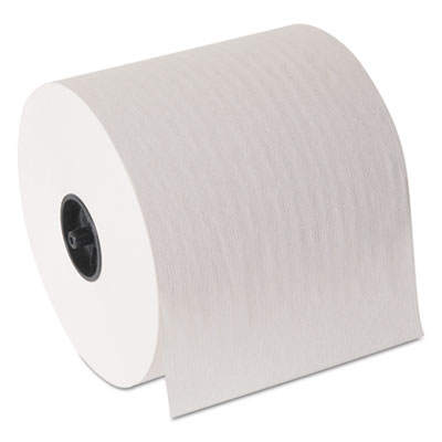 "Hardwound Roll Paper Towel, Nonperforated, 7"" x 1000 ft, White,"