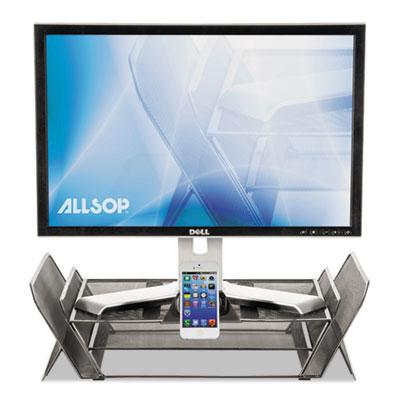 DeskTek Monitor Stand, 20 3/10 x 11 3/5 x 5 2/5, Gray