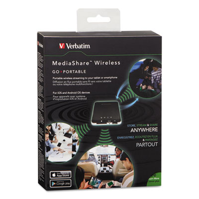 MediaShare Wireless Portable Streaming Device, 802.11b/g/n Wirel