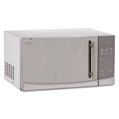 1.1 Cubic Foot Capacity Stainless Steel Touch Microwave Oven, 10
