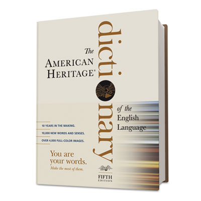American Heritage Dictionary of the English Language, 2,112 Page