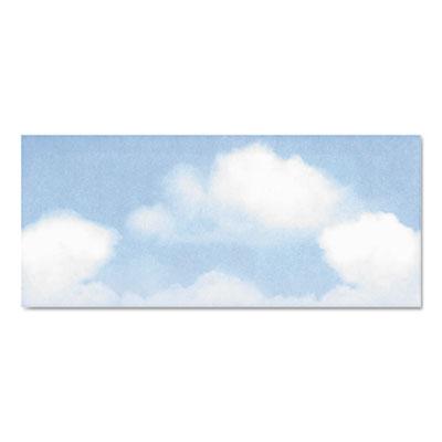 Design Envelope, Blue Clouds, 4 x 9 1/2, 50/Bx