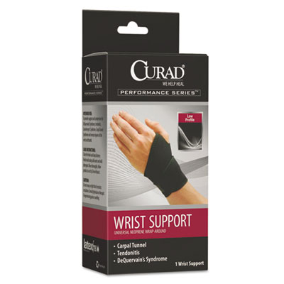 Performance Series Wrist Support, Adjustable, Black
