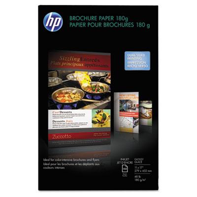 Inkjet Brochure/Flyer Paper, 98 Brightness, 48lb, 11 x 17, White