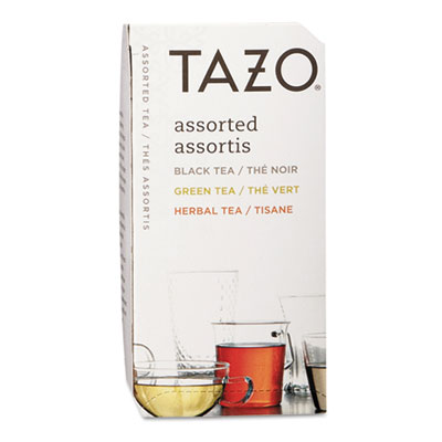 Assorted Tea Bags, Three Each Flavor, 24/Box